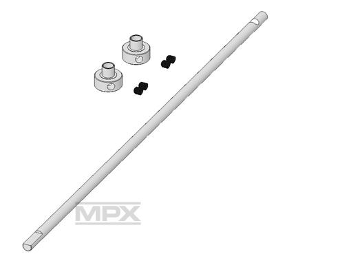 Multiplex Hauptrotorwelle FunCopter