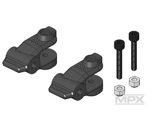 Multiplex Blatthalter (1 Paar) 5° FunCopter