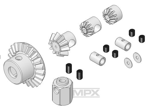 Multiplex Zahnrad-Set FunCopter