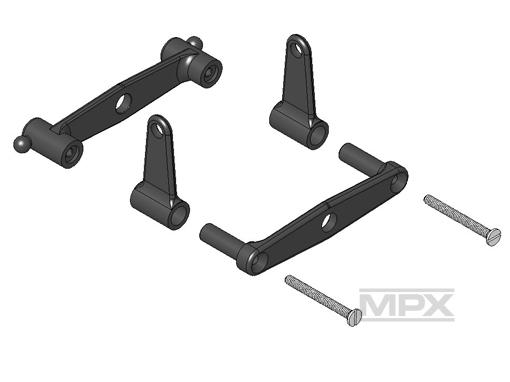 Multiplex Nickwippen-Set FunCopter