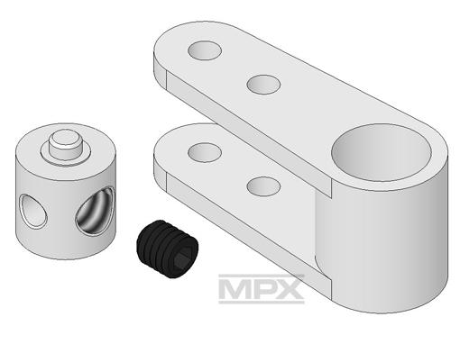 Multiplex Servo-Ruderhebel-Set FunCopter