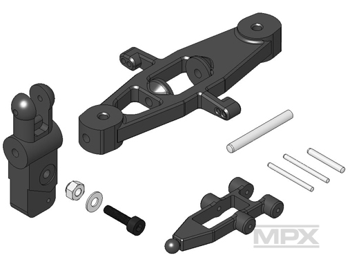 Multiplex Rotorkopf-Set FunCopter