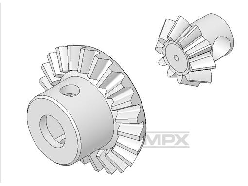 Multiplex Hauptzahnrad-Set FunCopter