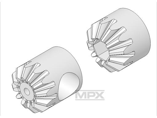 Multiplex Heckzahnrad-Set FunCopter