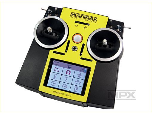 Multiplex Aufkleber COCKPIT SX 7/9 gelb