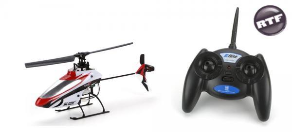 E-flite Blade MSR X Flybarless Heli RTF mit 3-Achsen FBL-System Mode2