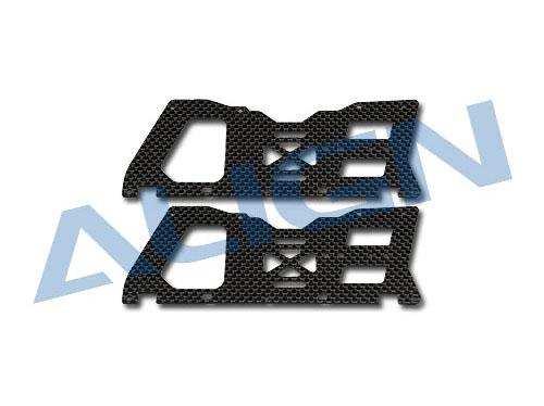 Align T-Rex 450 Sport V2 Carbonseitenteile Set unten