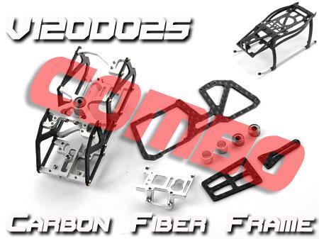 Xtreme Production Carbon Hauptrahmen + Landegestell Walkera 4G6 V120D0x