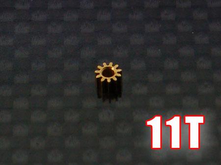 Ritzel 11Z M0,25 Welle Ø1,5mm