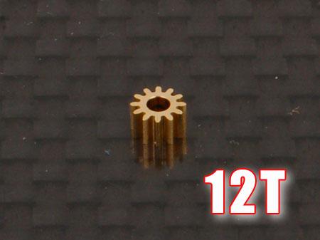 Ritzel 12Z M0,25 Welle Ø1,5mm