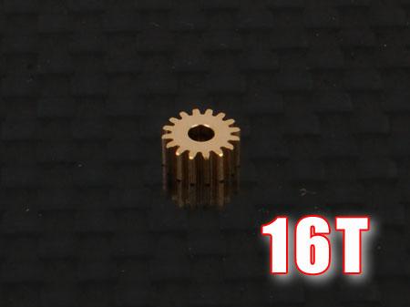 Ritzel 16Z M0,25 Welle Ø1,5mm