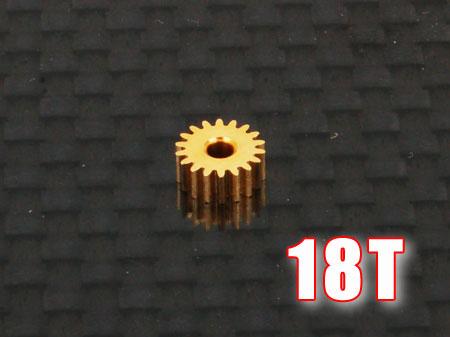 Ritzel 18Z M0,25 Welle Ø1,5mm