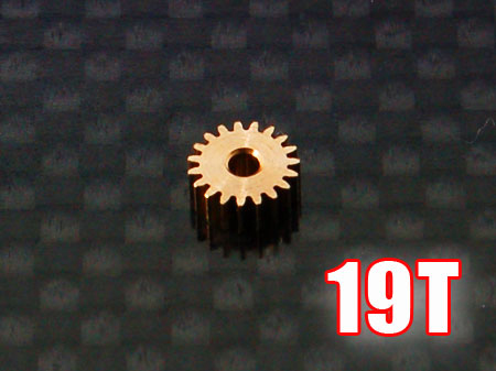 Ritzel 19Z M0,25 Welle Ø1,5mm