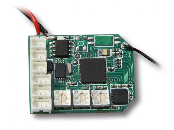 Genius CP V2 DEVO Empfänger RX2644H-D 2,4Ghz