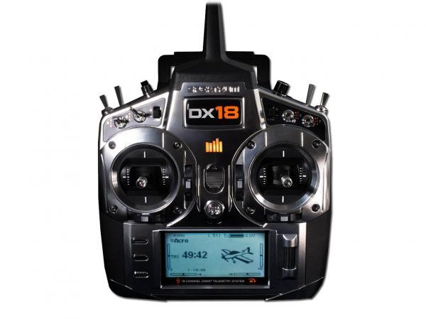 Spektrum DX18 Telemetrieanlage mit AR9020 Mode 2