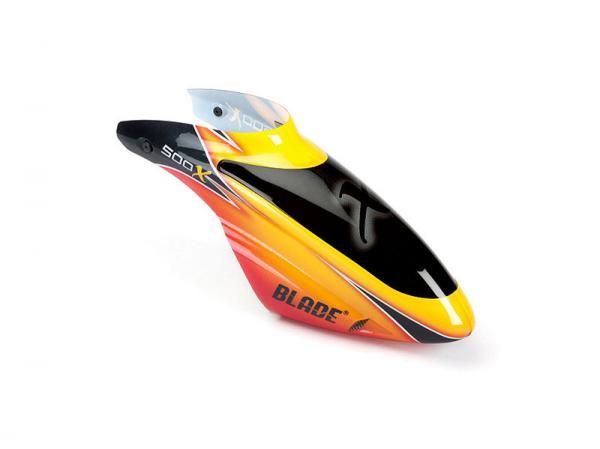 E-flite Blade 500 3D / 500 X Fireball Kabinenhaube