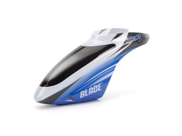 E-flite Blade 500 3D / 500 X Crystal Blue Haube