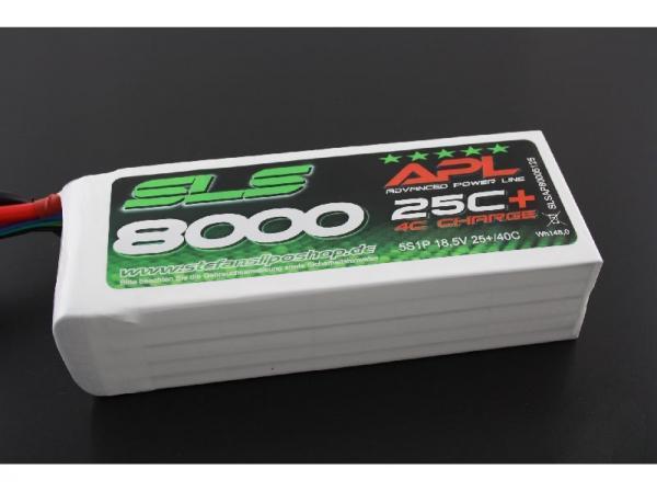 SLS XTRON 8000mAh 6S1P 22,2V 25C+/40C