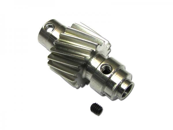 soXos Ritzel Schrägverzahnt 6mm / 18Z