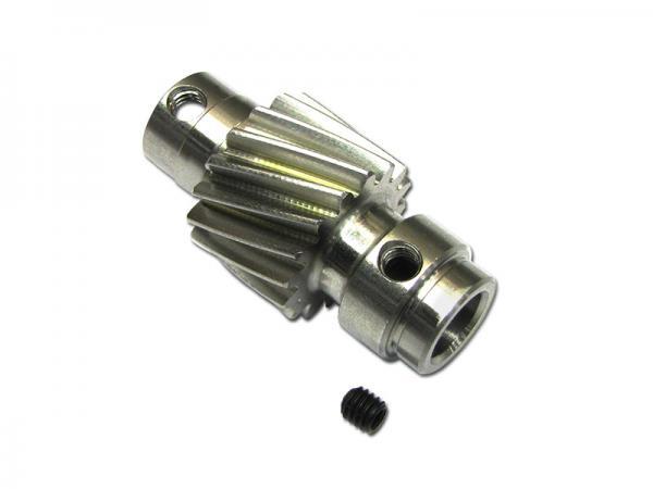 soXos Ritzel Schrägverzahnt 8mm / 17Z