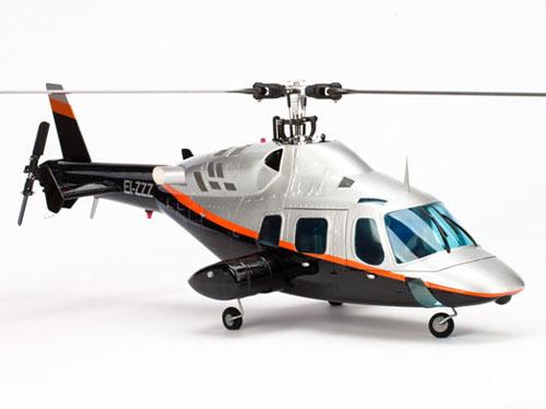 E-flite Blade 500 Bell 222 500er Scale Rumpf