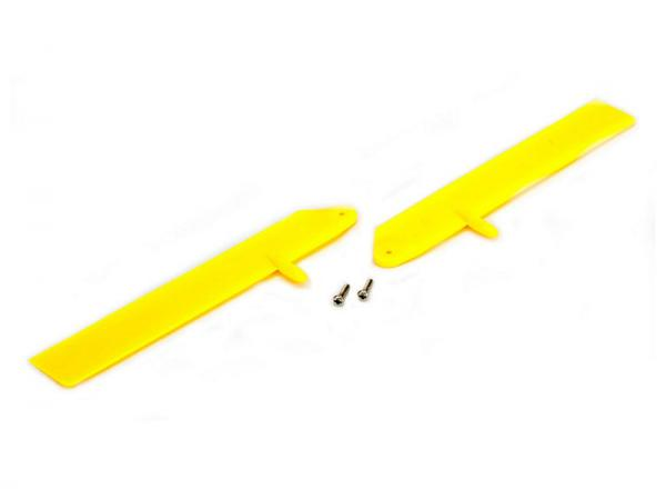 E-flite Blade mCPX Fast Flight Rotorblattset Gelb