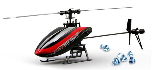 Walkera MINI CP Flybarless Micro 3D Heli DEVO BNF (ohne Sender)