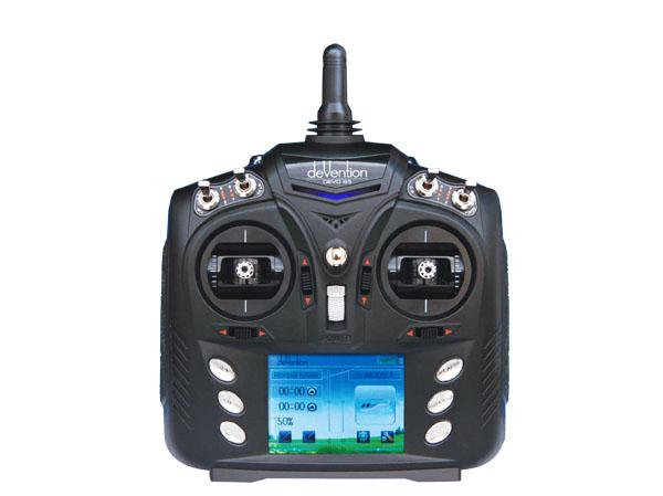 deVention DEVO 6S Touchscreen / Telemetrie 6Kanal 2,4GHZ Sender