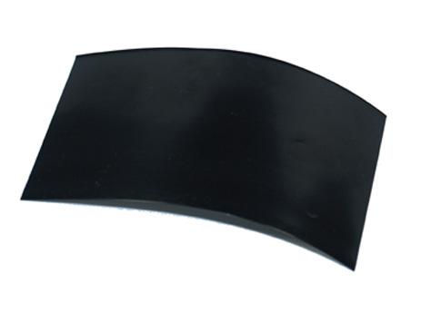 Schrumpfschlauch 130mm breit 1M schwarz