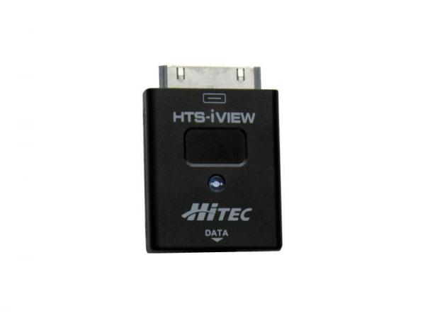 Hitec HTS-iVIEW Telemetrie Anzeige für iPhone, iPod touch & iPad