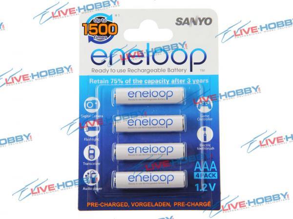 Sanyo ENELOOP NiMH Akku 1,2V 800mA AAA Micro 4er-Blister