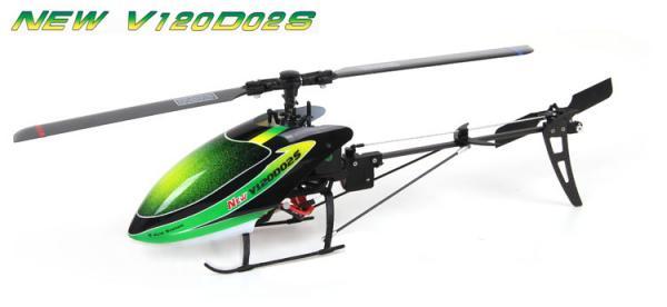 Walkera NEW V120D02S Flybarless Micro 3D Heli DEVO BNF (ohne Sender)