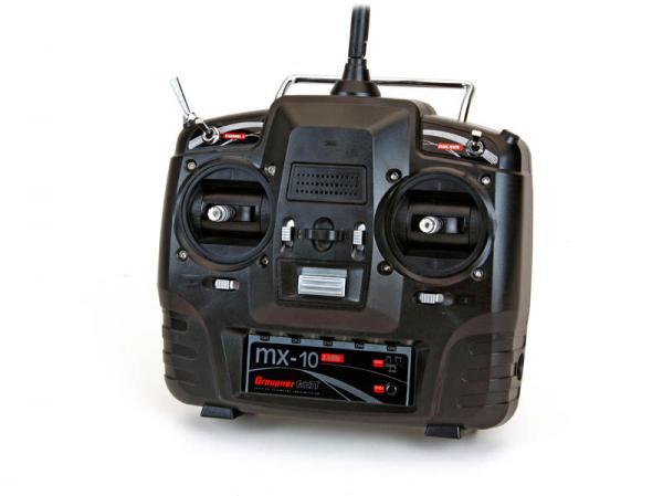Graupner mx-10 Computersystem 5-Kanal HoTT Handsender