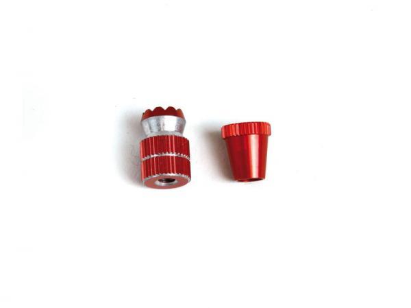 Graupner Steuerknüppel kurz rot eloxiert (2 Stück)