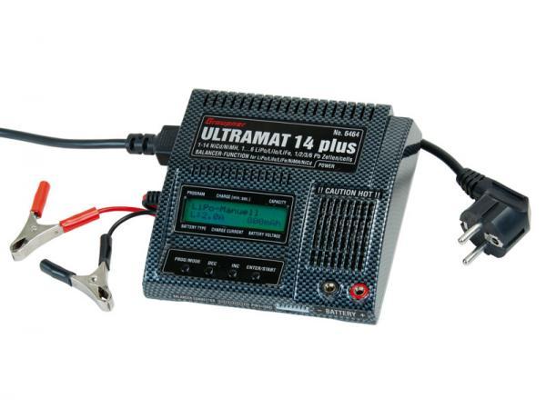 Graupner Ultramat 14 plus Ladegerät