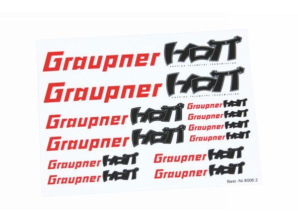 Graupner Klebeetikett HoTT transparent