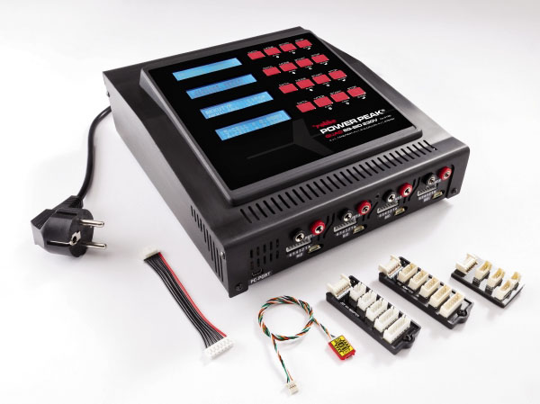 Power Peak Quad EQ-BID 4x50W 230V