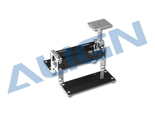Align T-Rex 800E Heckrohr- Akkuträgersystem