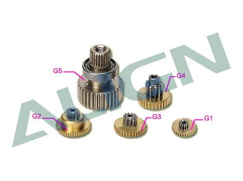 Align DS515M Getriebesatz Metall