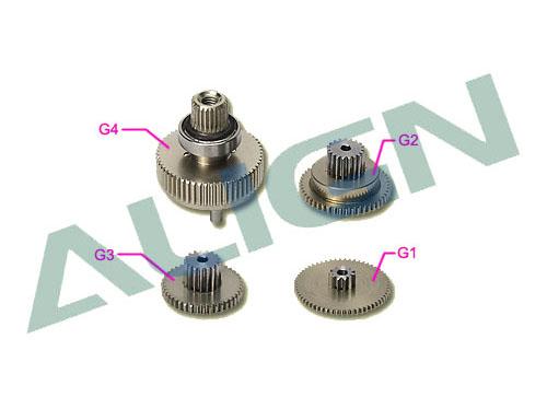 Align DS615 Getriebesatz Metall
