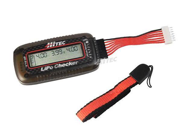 Hitec LiPo Checker und Balancer für LiPo 2-6 Zellen