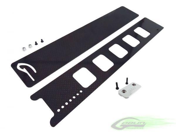 SAB Goblin 630 / 700 / 770 Akku Schnellverschlusssystem Set