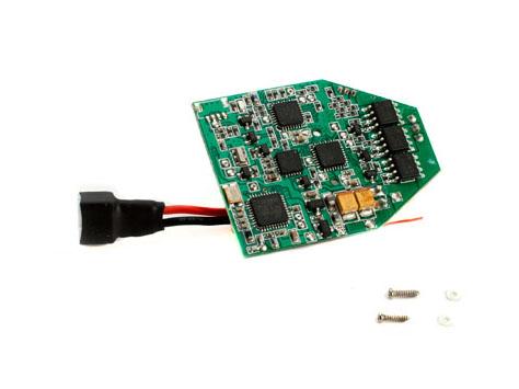 E-flite Blade mCP X BL FBL BL 3n1 Kontrollboard, RX / ESC / Gyros