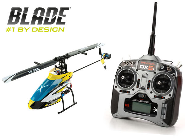 E-flite Blade mCP X BL Brushless BNF Heli mit Spektrum DX6