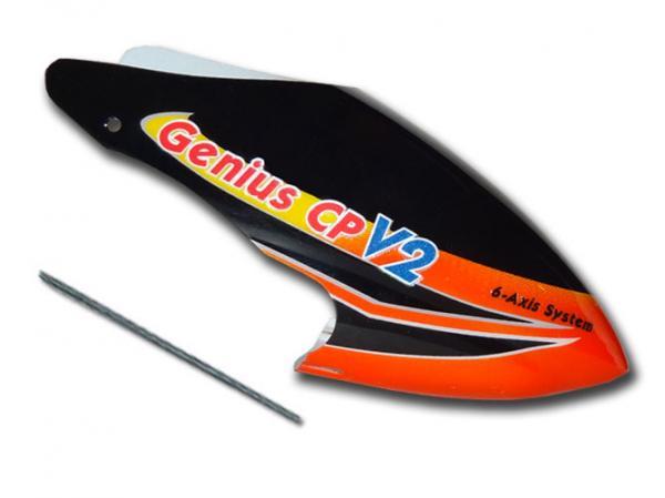 Walkera Genius CP V2 Kabinenhaube schwarz