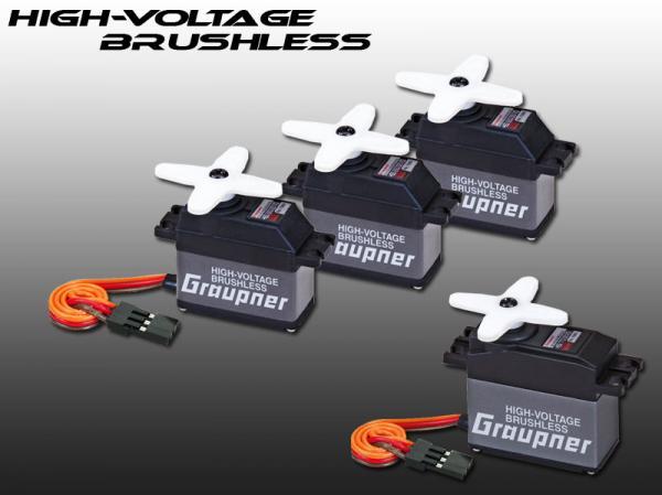 Graupner HV Brushless Servos HBS 660 + HBS 770 für Goblin 500