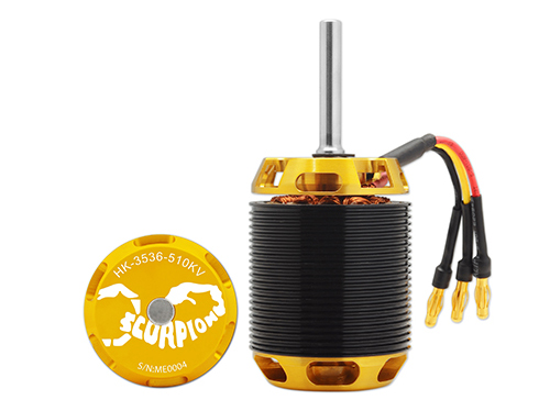 Scorpion HK-3536-510KV Brushless Motor