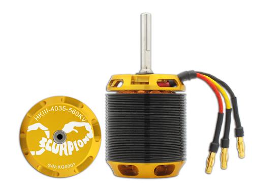 Scorpion HK-4035-560KV V3 Brushless Motor