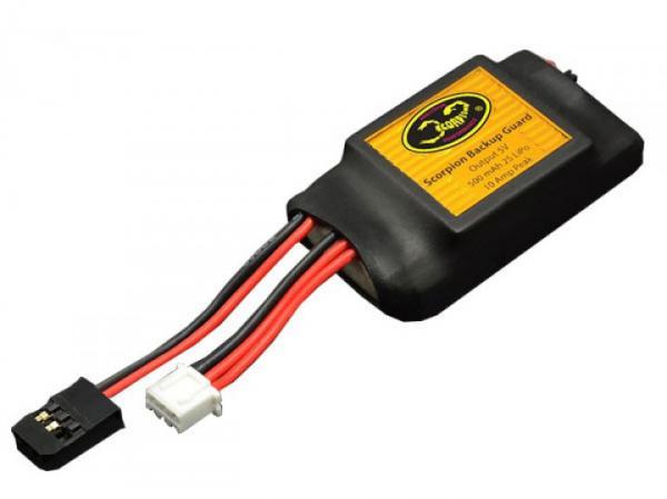 Scorpion Backup Guard Empfänger- Stromversorgung