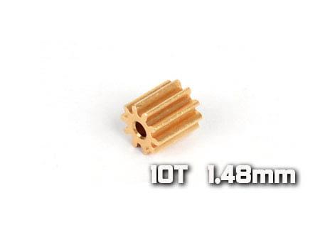 Xtreme Production 130X Motorritzel 10Z M0,4 Welle Ø1,5mm